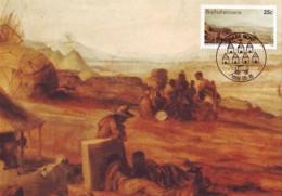 Bophuthatswana - Maximum Card Of 1986 - MiNr. 172 - Historic Of Thaba Nchu - Mission Station In Thaba Nchu In 1850 - Bophuthatswana