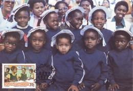 Bophuthatswana - Maximum Card Of 1986 - MiNr. 174 - Agricultural Development Project - Children In School - Bophuthatswana