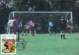 Bophuthatswana - Maximum Card Of 1987 - MiNr. 183 - Sport - Soccer - Bophuthatswana