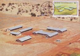 Bophuthatswana - Maximum Card Of 1987 - MiNr. 190 - Universities - E. M. Mokgoko-Farmer Training Centre - Bophuthatswana
