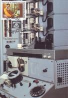 Bophuthatswana - Maximum Card Of 1987 - MiNr. 195 - Communications - Telephone Switchboards - Bophuthatswana
