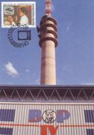 Bophuthatswana - Maximum Card Of 1987 - MiNr. 197 - Communications - Televisions - Bophuthatswana