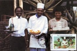 Bophuthatswana - Maximum Card Of 1988 - MiNr. 204 - National Parks - Catering - Bophuthatswana