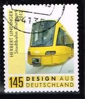 Bund 2018,Michel# 3363 O Stadtbahn Stuttgart Selbstklebend, Self-adhesive - Used Stamps