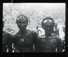 'Congo Natives' CENTRAL AFRICA - Magic Lantern Slide (lanterne Magique) - Plaques De Verre