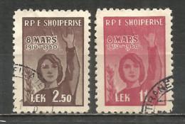 ALBANIA 1960 Used Stamps Set - Albania
