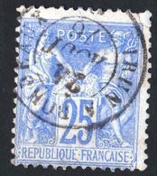 TYPE SAGE - N° 68 TIMBRE OBLITÉRÉ Côte : 90 € - 1876-1878 Sage (Type I)