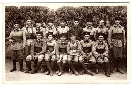 MILITARIA - CARTE PHOTO - PHOTO CARD - Regiment à Identifier - Regiments