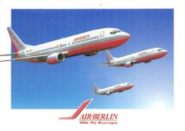 Air Berlin - Boeing 737/400 - 1946-....: Era Moderna