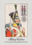Ciskei - Maximum Card Of 1983 - MiNr. 48 - Military Uniforms - 6th Foot (1st Warwickshire Regiment) 1821-1827 - Ciskei