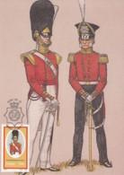 Ciskei - Maximum Card Of 1986 - MiNr. 100 - Military Uniforms - The 98te Regiment Of Foot - Ciskei