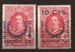 ESPAGNE N° 320 NEUF X MVLH  Et 329 NEUF XX MNH - 1889-1931 Kingdom: Alphonse XIII