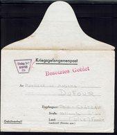 Fr - Kriegsgefangenenpost Stalag XC Gepruft 29 à Nienburg Sur Weser - Correspondance Pour Trie-Château Du 21-11-40. B/TB - Storia Postale
