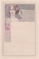 Liberty  -  Fanciulla Con Vestito Rosa  -   Edit.  M. M. VIENNE ,  Nr.  127 - Illustratori & Fotografie
