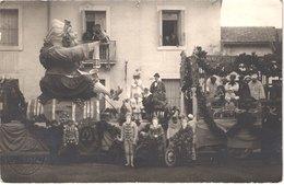 FR34 MONTPELLIER - Carte Photo Carnaval - Tampon Sec - Le Roi - Gros Plan - Animée - Belle - Folklore
