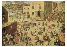 Peter Brueghel Les Jeux D'enfants (2 Scans) - Malerei & Gemälde