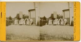 Biard 86580 Fête Dieu 1905 Le Cortège 311CP02 - Photos Stéréoscopiques