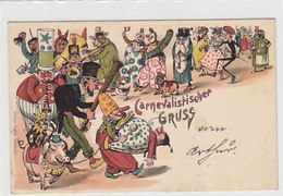 Carnevalistischr Gruss - 1897             (A-102-160702) - Greetings From...