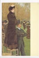 DE NITTIS, Alle Corse, A L'hippodrome, At The Races, Unused Postcard [23317] - Paintings