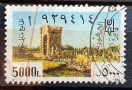 LNPC - Lebanon 1988 5000L Special Fiscal Revenue Stamp (Passport) - Lebanon