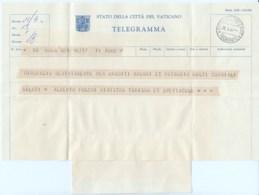 Telegramma Folchi Alberto 1961 Politico E Ministro - Documenti Storici