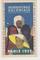 Internationale Koloniale Ausstellung Paris 1931 - Sign.              (A-102-160702) - Künstlerkarten
