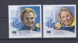 Australia 2002 Salt Lake City Olympic Games - Two Stamps Winners MNH/** (H56) - Winter 2002: Salt Lake City