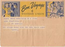 Telegramma Pubblicitario Western Union 1951 - Documenti Storici