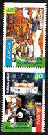 Géorgie - Europa CEPT 2002 - Yvert Nr.  299b/300a - Michel Nr. 397 Du/398 Do ** - 2002