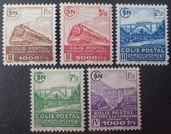 R1615/359 - 1941 - COLIS POSTAUX - N°177 à 181 NEUFS* - Colis Postaux