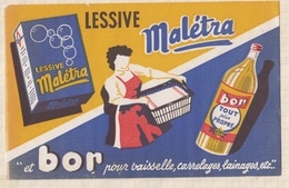 9/31  BUVARD Lessive Maletra Tout Plus Propre - Produits Ménagers