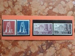 COLONIE ITALIANE - LIBIA - Nn. PO 140/41 - PA 30/31 Nuovi * (1 Valore Ruggine) + Spese Postali - Libia