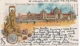 BUFFALO , New York , Pan American Exposition , 1901 ; Manufactures & Liberal Arts Building - Buffalo