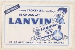 9/35  BUVARD CHOCOLAT LANVIN - Chocolat