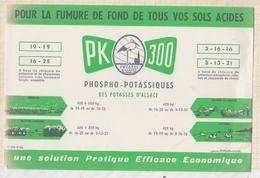 9/37  BUVARD POTASSE D'ALSACE PK300 - Altri