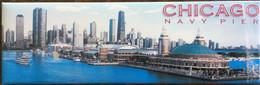Chicago Navy Pier USA Frigde Magnet, From Chicago - Tourism