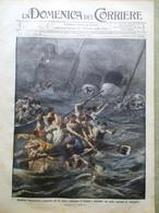 La Domenica Del Corriere 7 Giugno 1914 Empress Of Ireland Ciarli Napoli Florio - Guerra 1914-18
