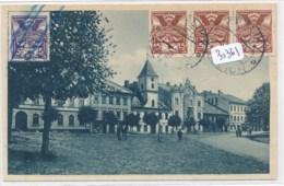 CPA-30361- Tchéquie--Grulich - Grosser Platz Avec Bel Affranchissement -Vente Sans Frais Pour L'acheteur - Tchéquie