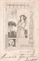Kunstlerpostakarte  No.  218  -  Ill.  Kolo Moser  ,  Aracne  -  Edit.  Fr. A. Ackermann, Munchen - Moser