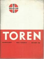 TOREN - MAANDSCHRIFT - ABDIJ TONGERLO - OKTOBER 1968 - Revues & Journaux