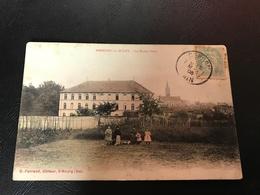 AMBERIEU EN BUGEY Les Ecoles Libres - 1908 Timbrée - Autres Communes