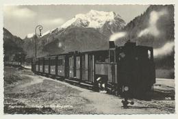 AK  Mayrhofen Eisenbahn Zillertalbahn Mit Grünberg - Trains