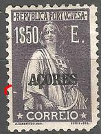Portugal Açores - 1$50 E Ceres Nice N/C Cliche. MH Short Perf - Variétés Et Curiosités