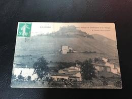 AMBERIEU Vieux Chateau De St Germain Et Le Village - Autres Communes
