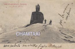 74 CHAMONIX MONT BLANC ALPINISTE A L OBSERVATOIRE JANSSEN EDITION ITALIENNE 2325 - Chamonix-Mont-Blanc