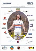 CARTE CYCLISME NICOLE COOKE TEAM AUSRA - SAFI 2003 - Cyclisme
