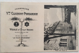(326) Champagne Vve Clicquot-Ponsardin - Etablissement De Verzenay - Reclame