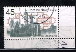 Bund 2016, Michel# 3264 O Dom Zu Naumburg, Eckrand - BRD