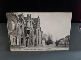 BEVEREN WAAS  Gestîchtstraat H.Lodewijk En Stationstraatobl 1902 - Beveren-Waas