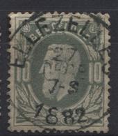 N°30 Obl. Sc ELLEZELLES. Coba 8€ - 1869-1883 Léopold II
